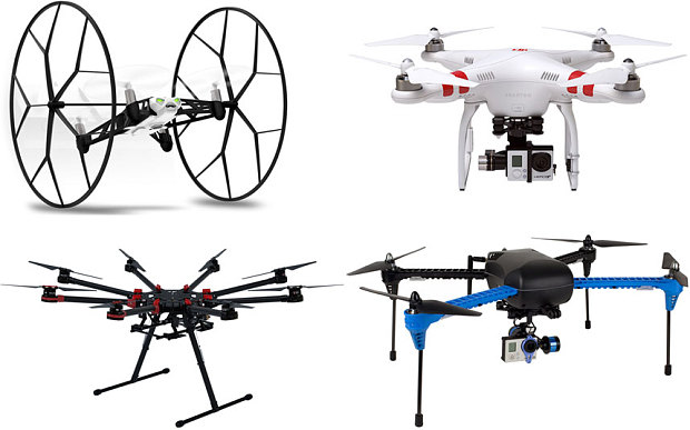 types of drone